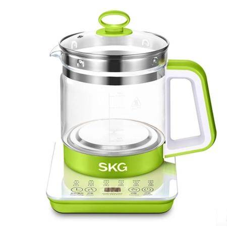 SKG 养生壶 8050 加厚玻璃花茶壶体 电煎药 中药保健壶 分体花茶煮茶 1.5L