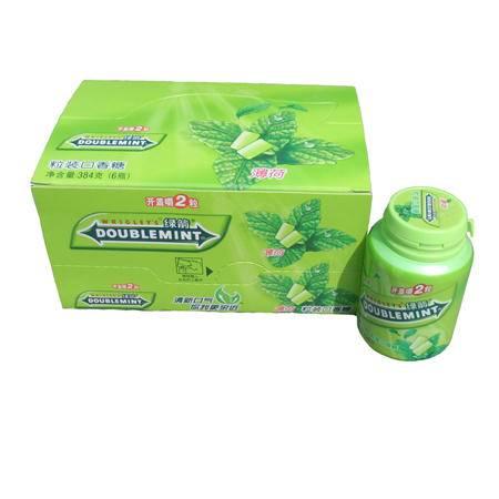 绿箭粒装口香糖瓶装*6
