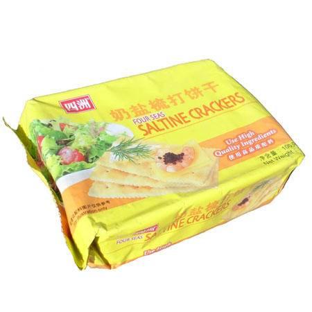 四洲奶盐苏打饼100G*2