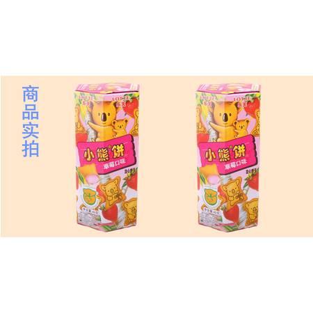乐天草莓小熊饼49g
