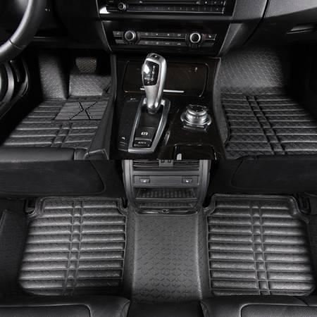 荣威550/名爵MG/650/750/950W5MG3皮革汽车全包围脚垫