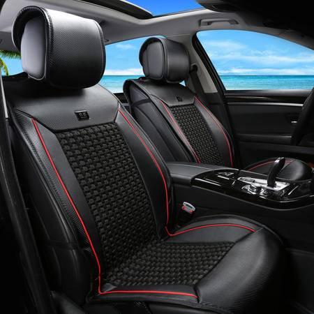 汽车坐垫四季新款汽车全包座垫通用座垫套夏季冰丝凉垫汽车用品
