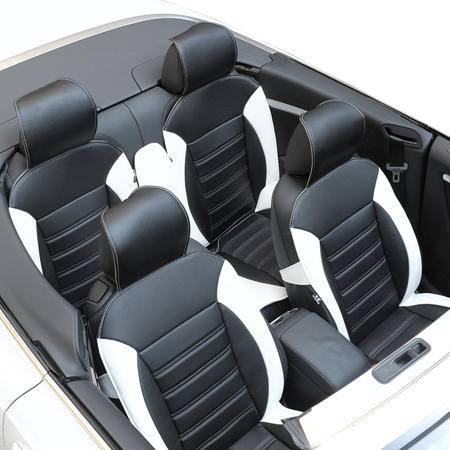 新款汽车坐垫四季通用高贵经典超纤皮夏季坐垫汽车通用车座垫