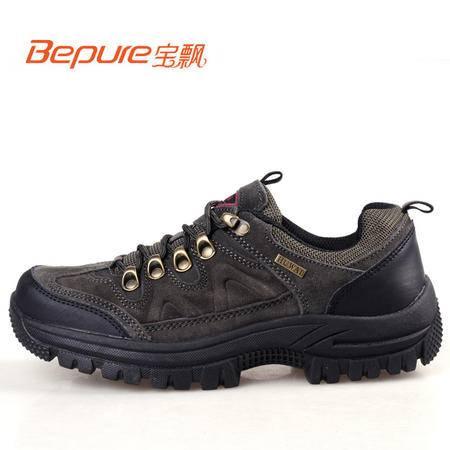 Bepure/宝飘 登山徒步鞋春季户外男士低帮防滑耐磨运动户外鞋越野鞋 WG087