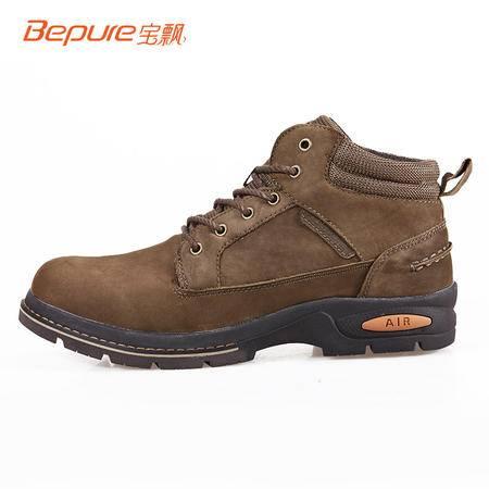 宝飘 系带中帮户外登山鞋徒步鞋防滑耐磨户外休闲鞋 WG102