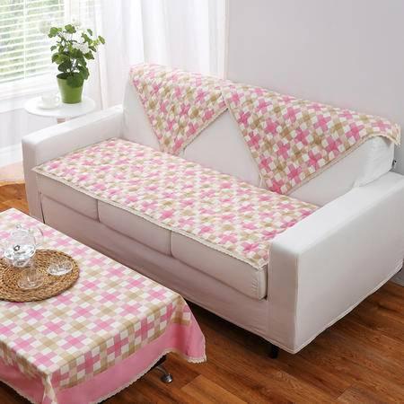 时尚简约加厚绗缝沙发垫 梦境花园