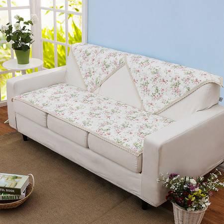 时尚田园加厚绗缝沙发垫 锦茵
