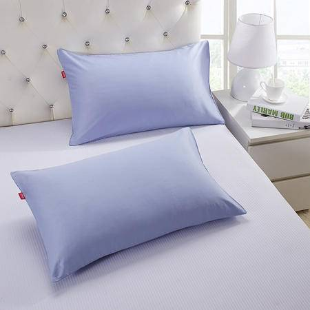 Cozzy 蔻姿家纺 全棉活性纯色枕套 一对装