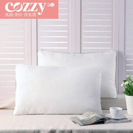Cozzy蔻姿 枕头单人酒店成人高回弹一对助眠颈椎枕头睡眠枕软枕芯