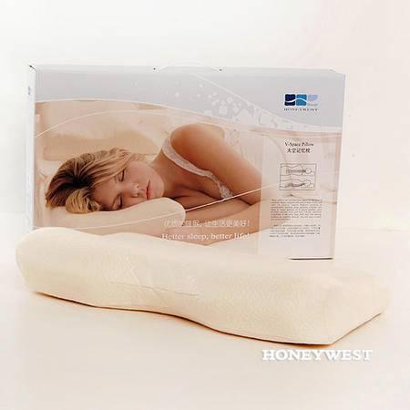 汉妮威颈椎保健枕头 护颈枕/慢回弹记忆枕0820 专柜正品