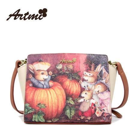 Artmi新款 兔子甜美可爱童话复古潮流时尚女包斜挎包APE0200