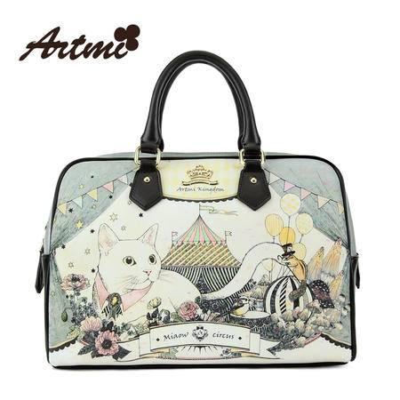 Artmi阿特密春季新品 手提包女潮流时尚甜美可爱淑女包包APT0595