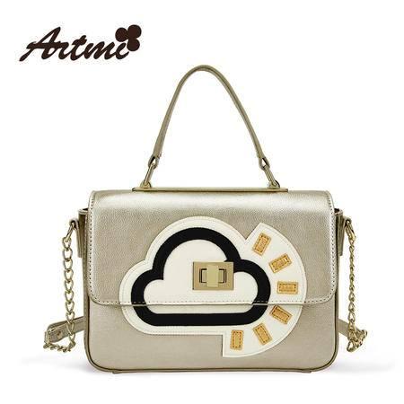 正品Artmi新款 欧美潮流甜美可爱百搭时尚手提单肩女包APF0704