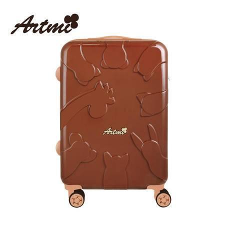 正品Artmi2016新品 复古休闲时尚拉杆箱万向轮女行李旅行箱登机箱ADX0008