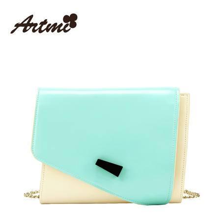 正品Artmi新款 甜美淑女包包纯色可爱小清新斜挎包女潮APE0843