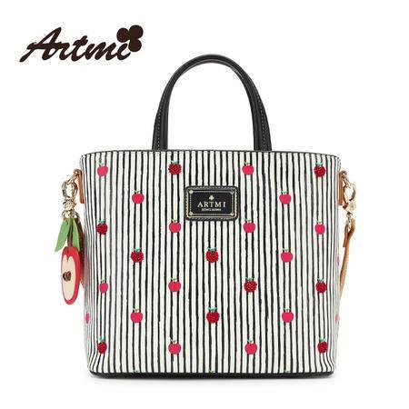 正品Artmi阿特密新款 小清新手提斜挎包女时尚手拎包包潮APF0830