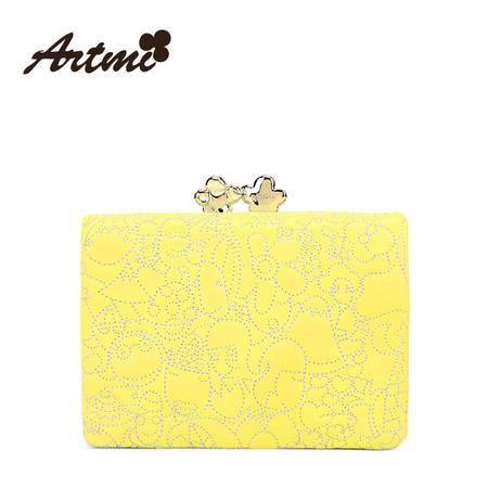 正品Artmi新款 日韩甜美短款钱包女潮糖果色多卡位包动漫APQ0571
