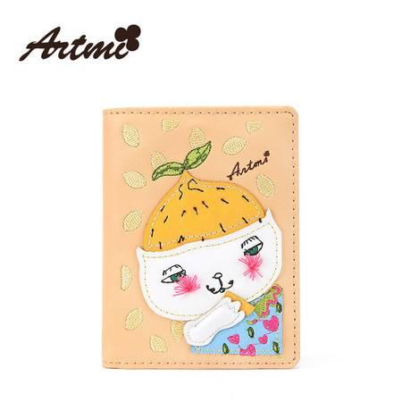 正品Artmi新款 日韩可爱卡包迷你小清新交通卡薄卡套女潮APK0849