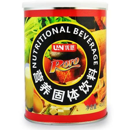 优恩(UN)RORO营养固体饮料 乳清蛋白质粉 400g