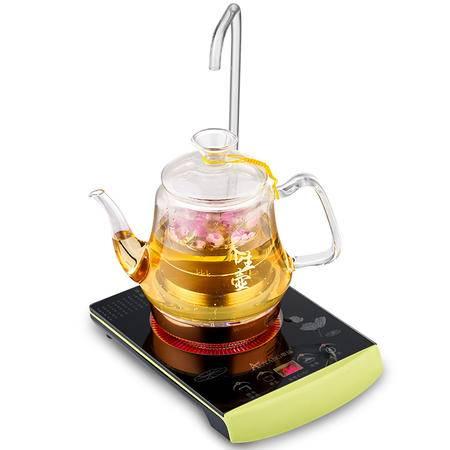 科思达 奥扬二合一电茶炉自带玻璃管上水烧水壶玻璃壶