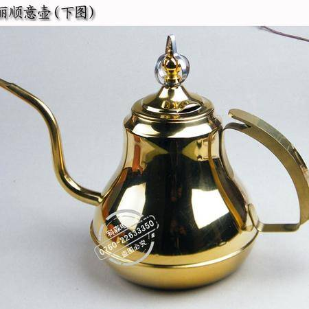创捷 高档不锈钢茶壶 泡茶壶 电磁炉 功夫电磁茶炉茶盘专用配件长嘴壶