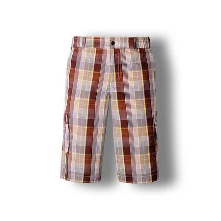 占姆士夏季男士纯棉吸汗透气沙滩裤宽松休闲