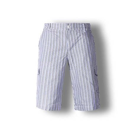 占姆士夏新款格子纯棉沙滩裤短裤薄五分裤中裤