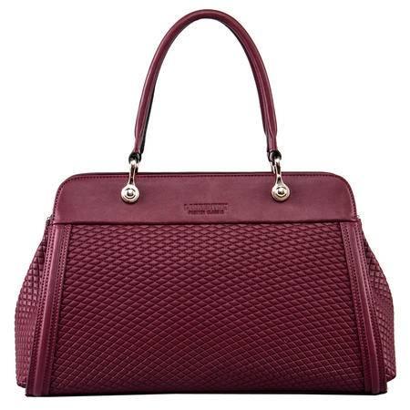 老人头正品 新款潮流菱格女士手提包包