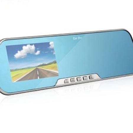 捷渡 /JADO D600S 后视镜行车记录仪 防眩蓝屏 1080P+32G卡