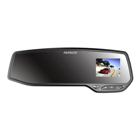 PAPAGO GoSafe730高清后视镜行车记录仪 隐形机 移动侦测+32G高速卡
