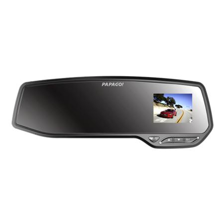 PAPAGO GoSafe730高清后视镜行车记录仪 隐形机 移动侦测+16G高速卡