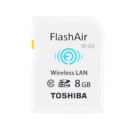 东芝/TOSHIBA 8G FlashAir 第三代无线局域网嵌入式SDHC存储卡 Class10