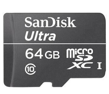 闪迪/SanDisk 至尊高速移动MicroSDXC TF卡 64GB Class10 30m/s