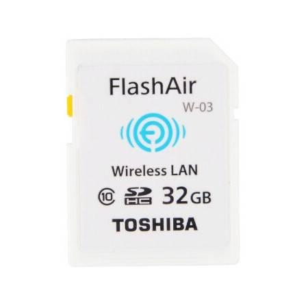 东芝/TOSHIBA 32G FlashAir 第三代无线局域网嵌入式 SDHC存储卡 Class