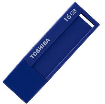 东芝/TOSHIBA  标闪系列 16G U盘 USB3.0 蓝色