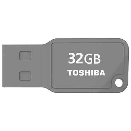 东芝/TOSHIBA  随闪系列( MIKAWA ) 32G U盘 灰色