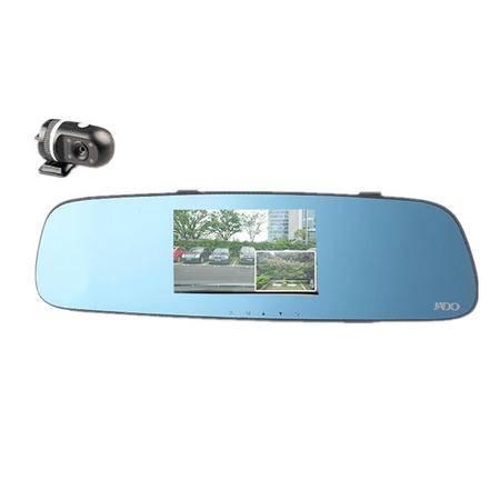 捷渡/JADO D650S  后视镜行车记录仪 前后摄像头 带8G卡
