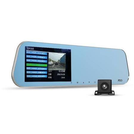 捷渡 /JADO D630 后视镜行车记录仪 前后双录 带32G