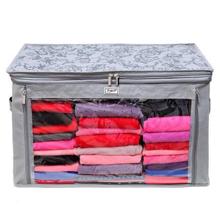 毕加索 竹碳纤维 88升3格式无纺布调整增高型衣物收纳袋 PS-2311