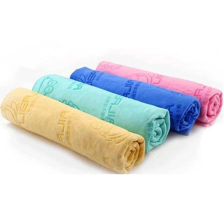 丽尔家 贵族式鹿皮巾 多用途吸水毛巾 中号尺码 筒装1入