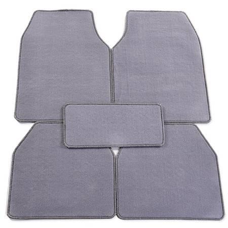车旅伴 HQ-C1141 天鹅绒通用型全车脚垫(灰色)
