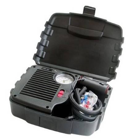 风王COIDO  汽车轮胎充气泵(箱式)2107 黑色