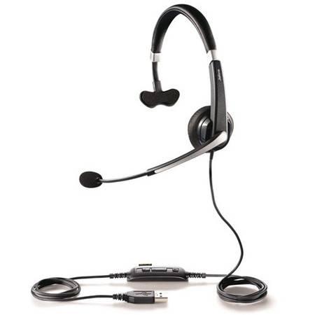 JABRA 捷波朗 UC™ VOICE 550 MS MONO USB接口单耳话务耳机/话务耳麦