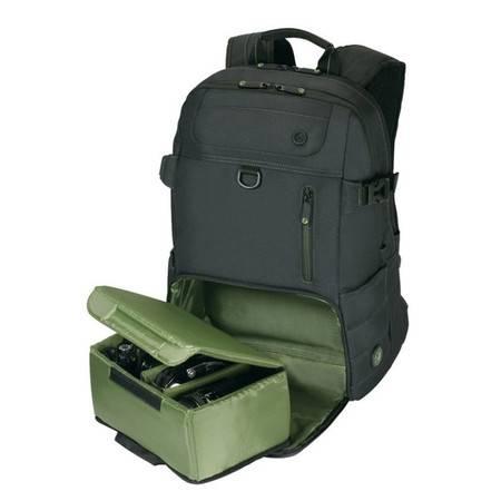 泰格斯/Targus EcoSmart环保系列16寸笔记本电脑双肩背包 TBB567AP黑