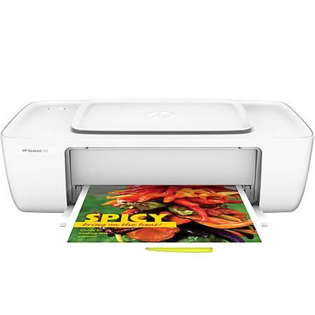 惠普(HP)DeskJet 1112 彩色喷墨打印机 (1010升级款)