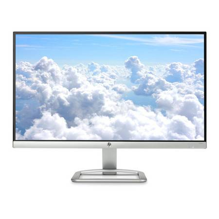 惠普(HP)23er 23in IPS 高清家庭办公游戏电脑显示器 白色1920X1080