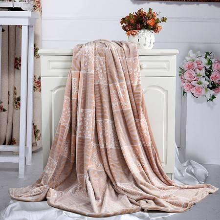 水星家纺 MERCURY 雕花绒被套毯   200x230cm 108999