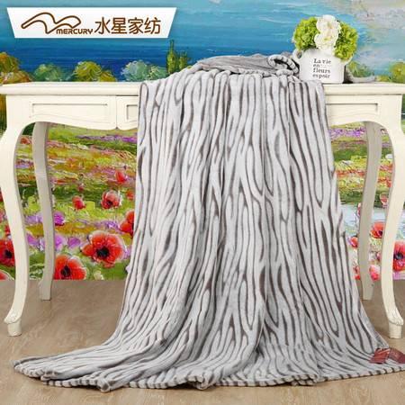 水星家纺 MERCURY 玉貂绒盖毯  180 x 200cm 105754