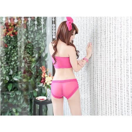 满百包邮 成人之美粉色诱惑女式性感t裤 7031
