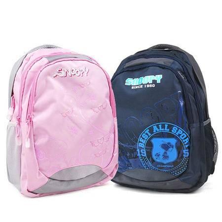包邮 史努比最新款小学初中生高中生书包 双肩背包Y040236